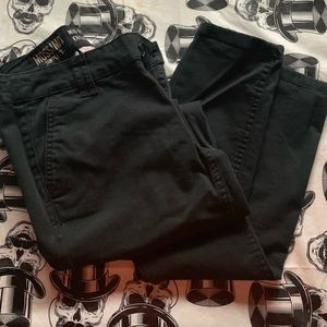 Mossimo mid rise skinny work pants